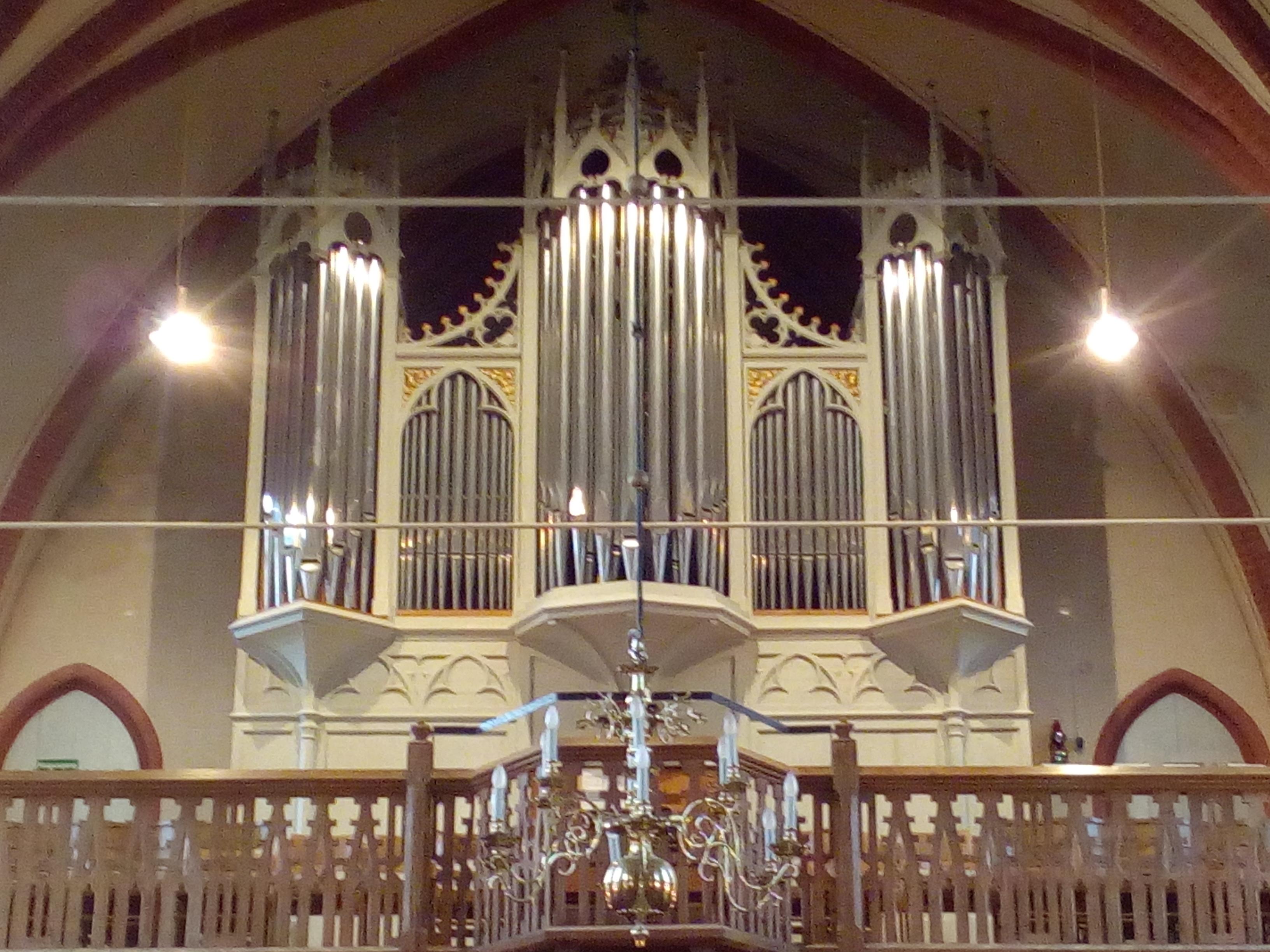 Gebr. Hillebrand-Orgel Bad Bederkesa_Foto: Timo Corleis