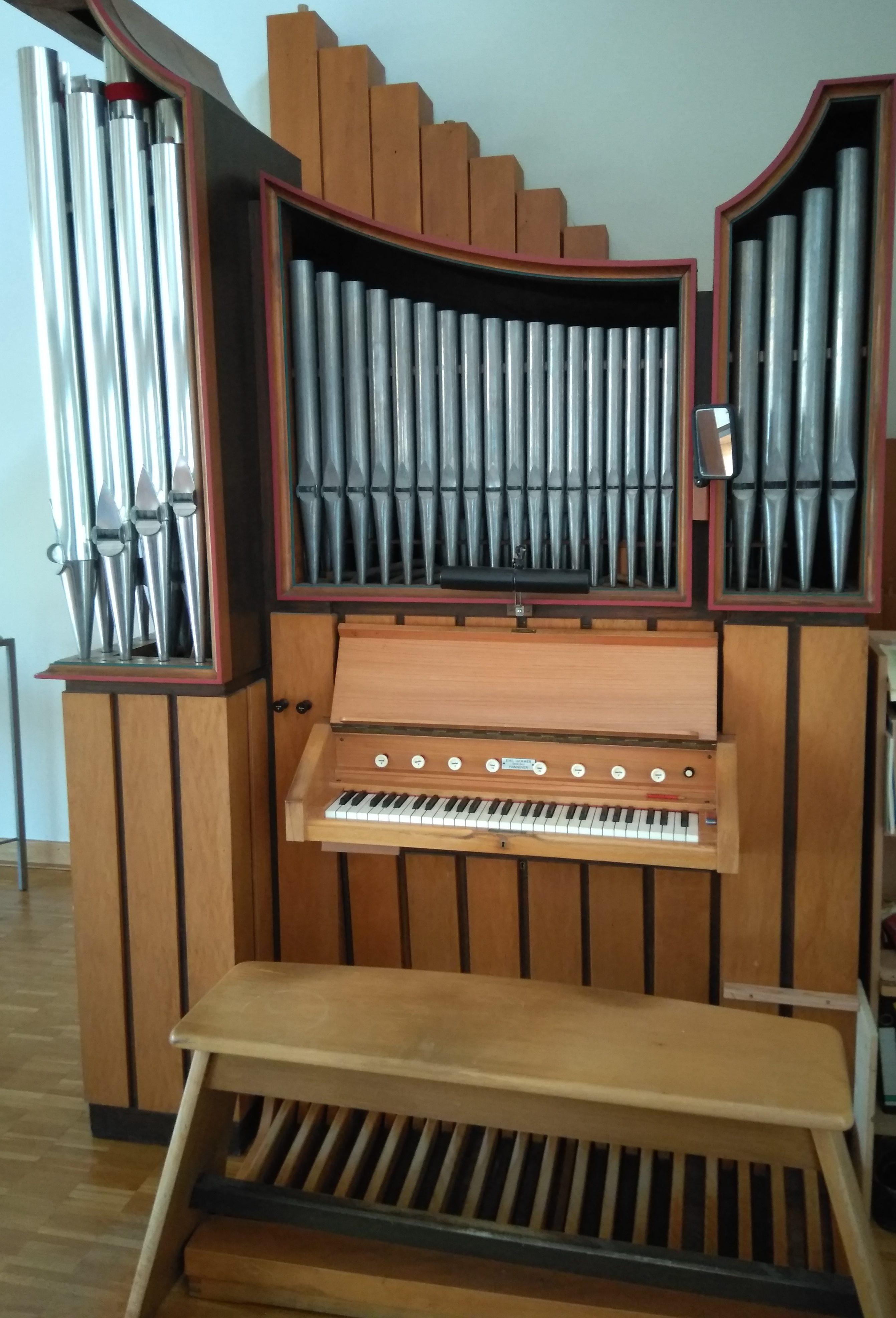 Emil Hammer-Orgel Celle Vorwerk_Foto: Daniel Kunert